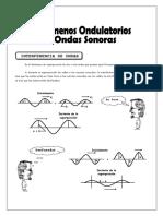10 Fenómenos Ondulatorios y Ondas Sonoras
