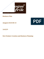 Business Plan Afrik New