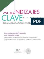Orientaciones para inclusión..educación especial