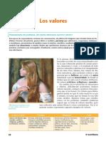 JERARQUÍA DE VALORES