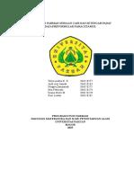 Data Preformulasi Paracetamol