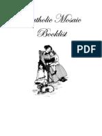 Mosaic Book List