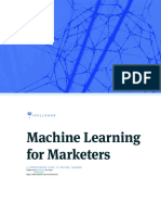 Marketing + Machine Learning