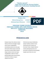 Review Jurnal Geodesi Fisik