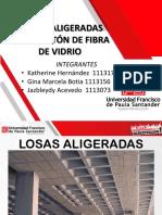 Exp Placas Aligeradas Con Caseton de Fibra de Vidrio...