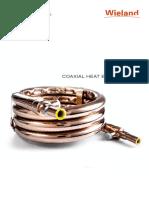 Coaxial Heat Exchangers