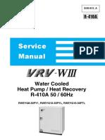 VRV-3W Service Manual