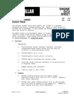 CAT EMCP I Engine Data Sheet 72.5