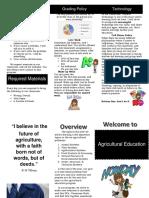 syllabus brochure