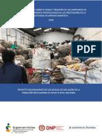 Informe Nacional Sobre El Pesaje y Registro de Las Cantidades de Residuos Efectivamente Aprovechados de Los Pres 1