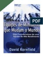 David Kornfield - Equipes de ministério que mudam o mundo.pdf