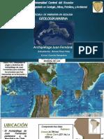 GEOLOGIA DEL ARCHIPIELAGO JUAN FERNANDEZ (CHILE)