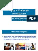Tipos y Diseño de Investigaciòn Ucv