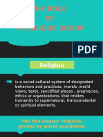 The Role of Religious Group
