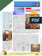 Boletin 37 Año I 12mo Fiesta de La Natividad María