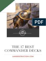 The 17 Best Commander Decks