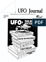 MUFON UFO Journal - August 1991