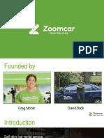 zoomcar slideshare