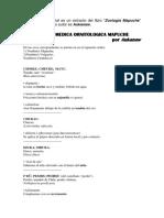 Aukanaw - Materia Medica Ornitologica Mapuche