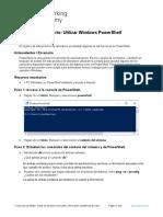 2.2.1.11 Lab - Using Windows PowerShell