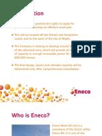 Eneco Public Exhibition Information
