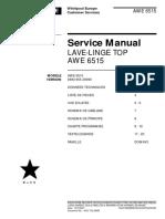 Whirlpool AWE 6515 service manual