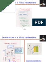 Introducción física newtoniana