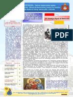 Boletin 40 Año I 14mo Domingo de Pentecostes