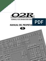 Yamaha 02rv2 Manual