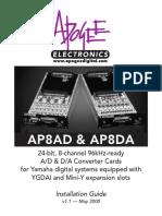 Apogee AP8DA y AP8AD