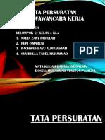 Tata Persuratan Dan Wawancara Kerja
