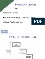 6.Group Technology JIT Layout