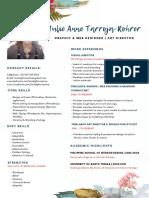 Julie Anne Tarroja-Rohrer Resume