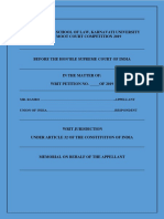 Memo From Petitioner Side - Copy