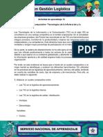 Evidencia 2 Cuadro Comparativo Tecnologias de La Informacion y La Comunicacion
