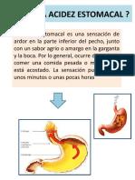 Cartelera Acidez Estomacal