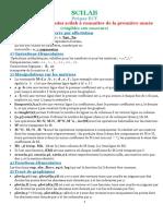 Commandes Scilab Pour Prepas Ect