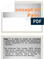 Concept of Pain