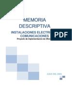 07 Memoria Descriptiva Electrica-Comunicaciones Inteligo Patio Panorama.docx