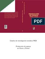 Produccion de Quinua Oruro y Potosi