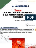 CLASE-Las Matrices de Riesgos y Administracion de Riesgos