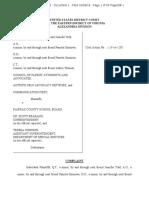 FCPS Complaint