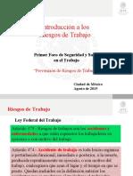 1.- Riesgos de Trabajo- Dr. Tornero
