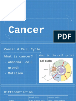 yok - cancer preseantation