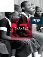 Ruby Cup Annual Impact Report 2016