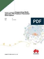 Base Station Supporting Multi-operator PKI(SRAN15.1_01)