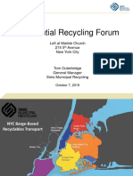 Presentation by Tom Outerbridge, Forum on Residential Recycling 10/7/19