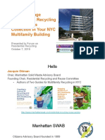 Presentation from Jacquelyn Ottman, Forum on Residential Recycling, 10/7/19