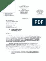10.08.2019 Defense Letter to Court Re Mavis Tire