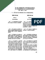 Tratados de Derecho Internacional Privado Suscriptos en Montevideo